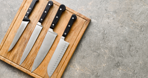 A Quick Guide To Handling Knives Safely In The Kitchen