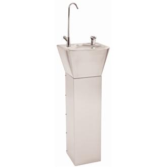 Sissons Stainless Steel Sinks : Sissons Drinking Fountains > Franke Sissons Stainless Steel Pedestal ...