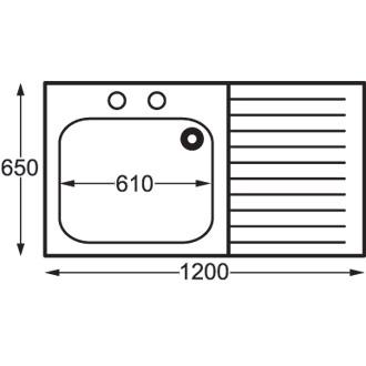 Sissons Stainless Steel Sinks : Sissons Midi Sink Range > Franke Sissons Self Assembly Stainless Steel ...