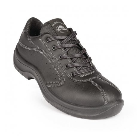 Lites Side Perforated Lace Up Black 41