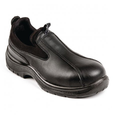 Lites Unisex Cushioned Slip On Black 42