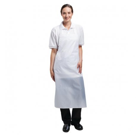 Whites Waterproof Bib Apron White