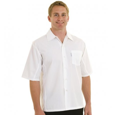 Chef Works Unisex Cool Vent Chefs Shirt White L
