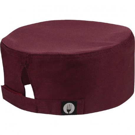 Chef Works Cool Vent Beanie Merlot