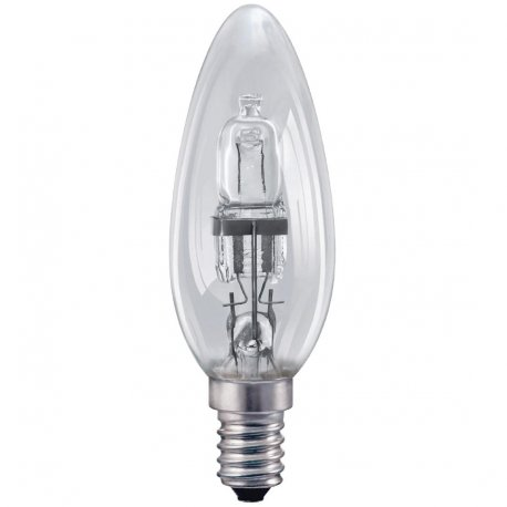 Status Halogen Candle Bulb SMALL Edison Screw 28W
