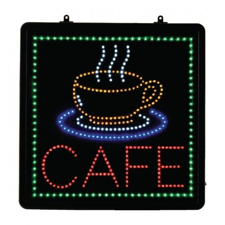 LED Cafe Display Sign