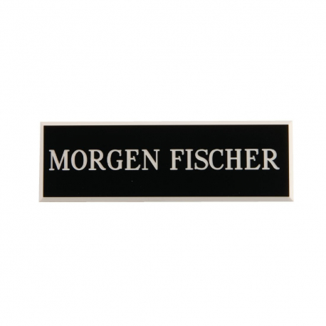 Name Badges Black