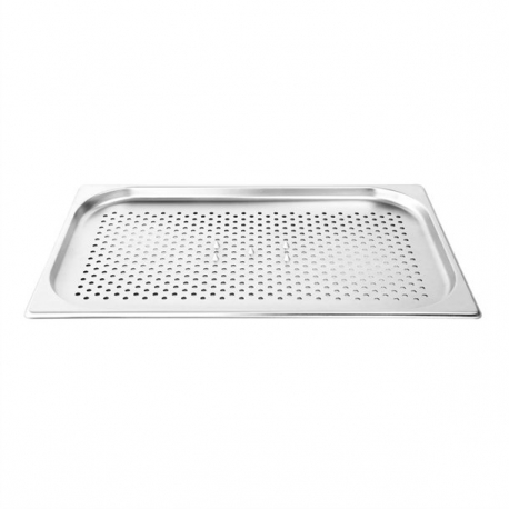 Vogue 530(W) x 325(D)mm Perforated Spiked Meat Dish Stainless Steel