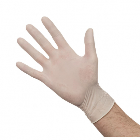 Powdered Latex Gloves M (Pack of 100)
