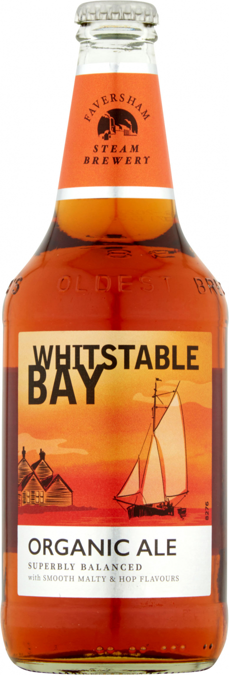 Whitstable Bay - Organic Ale (8x 500ml Bottles)
