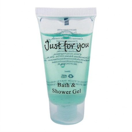 Just for You Bath and Shower Gel - 20ml Tubes (100 pcs)