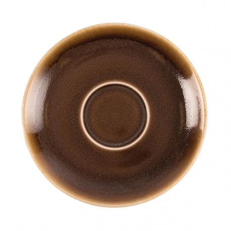 Ø Porcelain 160 mm 6 pc Moss Olympia Kiln Cappuccino Saucer