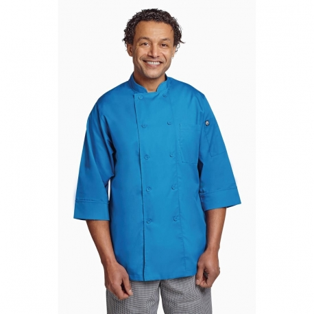 Chef Works Unisex Chefs Jacket Blue S