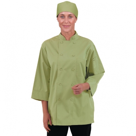 Chef Works Unisex Chefs Jacket Lime L