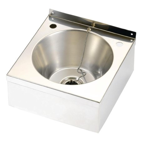 Sissons Stainless Steel Sinks : Franke Sissons Stainless Steel Wash Basin with Waste Kit 290x290x157mm