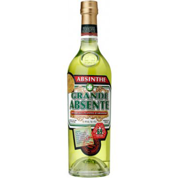 Picture of a bottle of Absinthe