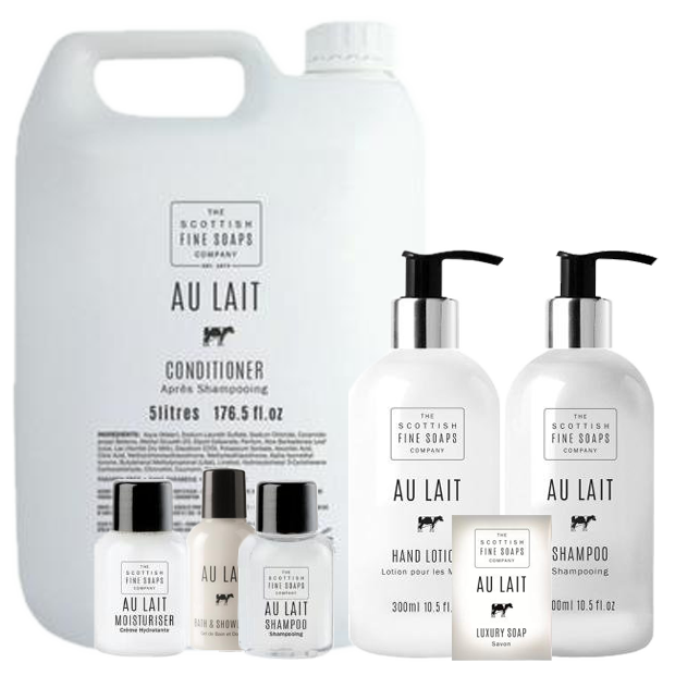 Au Lait Hotel Toiletries