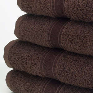Image of a Bath Towel in Dark Brown