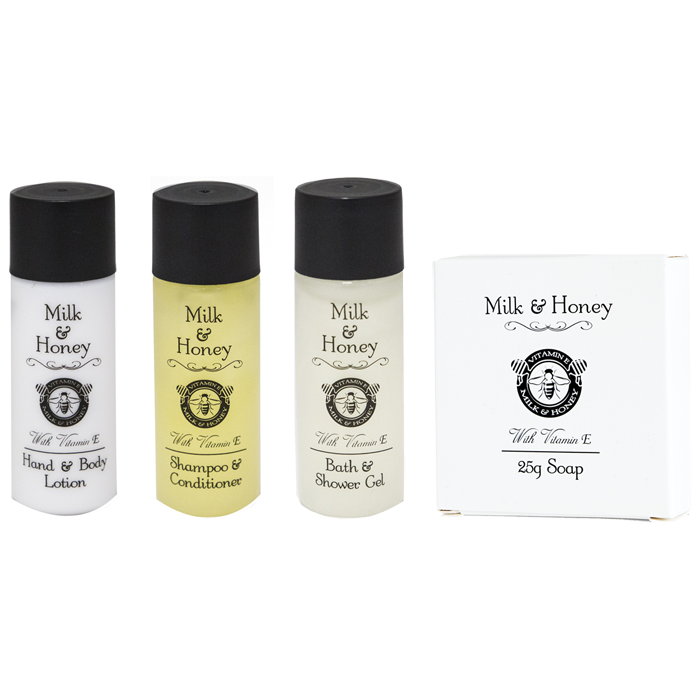 Milk and Honey Hotel Toiletries