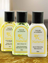 Taylor Of London Hotel Toiletries