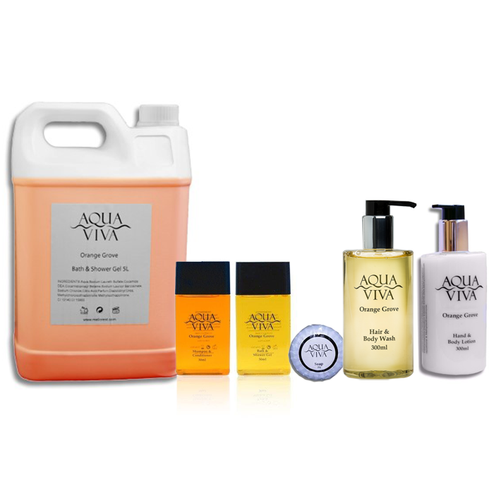 Aqua Viva Orange Grove Hotel Toiletries