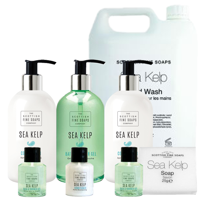 Sea Kelp Hotel Toiletries