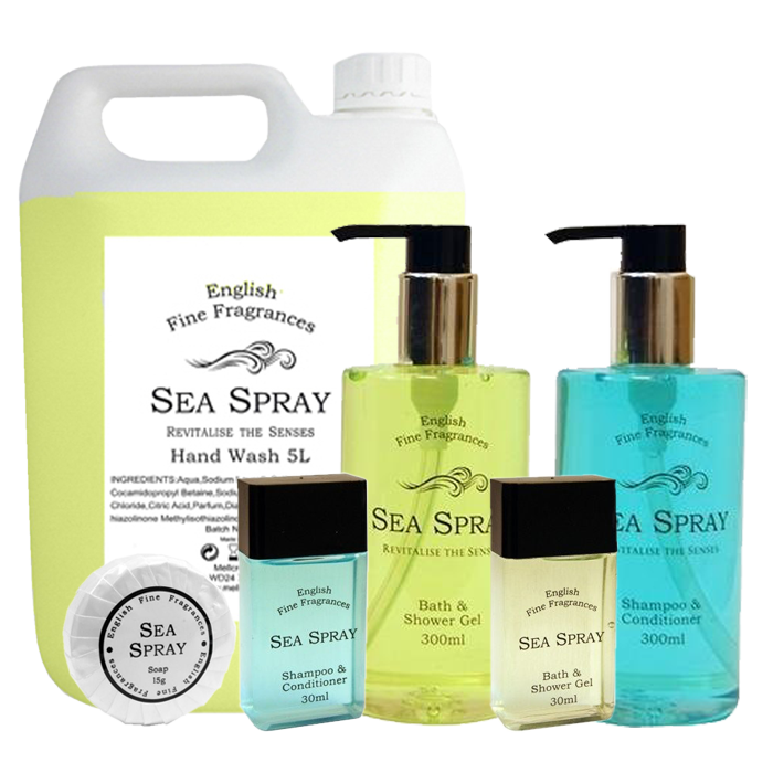Sea Spray Hotel Toiletries