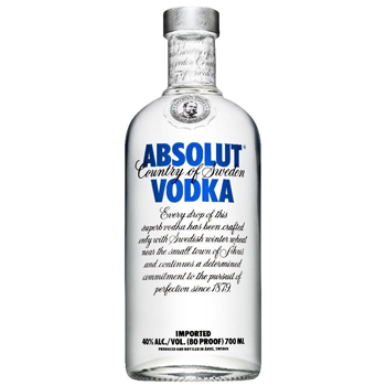 Picture of a Bottle of Vodka