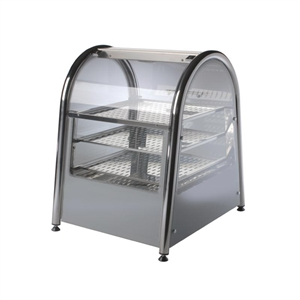 469mm Buffalo Countertop Heated Pie Cabinet Warmer Width 3 Tier 30 Pies