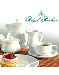 Royal Porcelain Restaurant Crockery