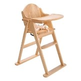 Luxury Folding Wooden High Chair