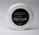 Platinum 25g Tissue Pleat Soap (500 pcs)