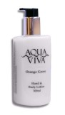 Aqua Viva 300ml Hand & Body Lotion Bottle - Orange Grove