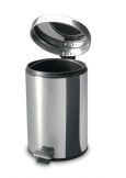 Elegance 3L Stainless Steel Pedal Bin (Bright)