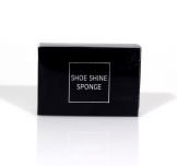 Shoe Shine Sponge In Black Carton