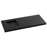 Black Presentation Tray With Insert - 250 x 102mm