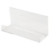 Clear Stand-Up Tray - 90 x 200 x 70mm