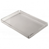 Frosted Rectangular Tray - 148 x 220mm