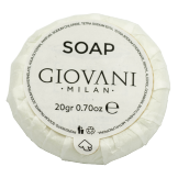 Giovani Coconut 20g Tissue Pleat Soap (500 pcs)
