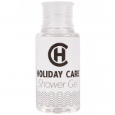 Holiday Care 30ml Shower Gel Bottle
