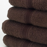 Bath Sheet - Dark Brown x 2
