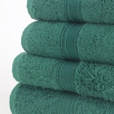 Bath Sheet - Jade Green x 2