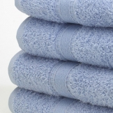 Bath Sheet - Pale Blue x 2