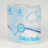 Certus 320 Sheet Toilet Roll 2 Ply White x 36