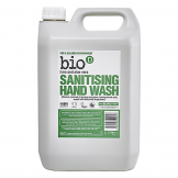 Bio D Sanitising Hand Wash Lime and Aloe Vera 5L (4 pcs)