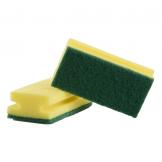 Finger Grip Sponges - Green (10 pcs)