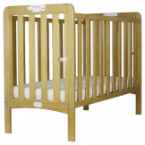 Folding Wooden Cot With Foam Mattress