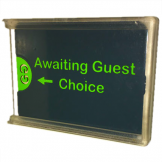 Green Guests Privacy Preference Sign (5 pcs)