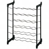Metaltex Wine Rack Metal 30 Bottle