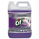 CIF Pro Formula 2-in-1 Cleaner and Disinfectant Concentrate 5Ltr (2 Pack) (Pack of 2)
